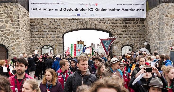 a Internationale-Befreiungsfeier